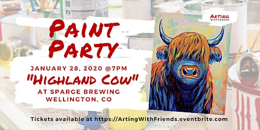 """Jan 28th """"Highland Cow"""" - Sparge Brewing"""
