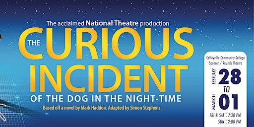 RRR Theatre Presents- The Curious Incident of the Dog in the Night-Time