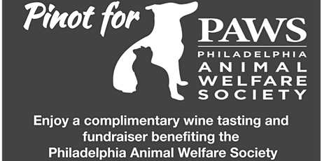 Pinot for PAWS tickets