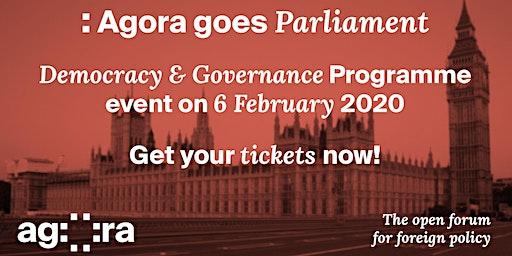 Agora visits Parliament!