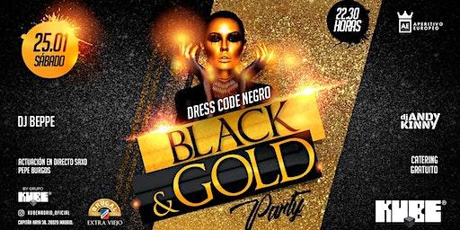Black and Gold Party @KUBE con entrada  y catering gratuito