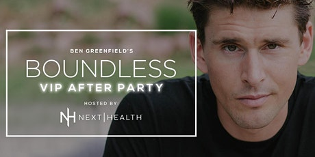 VIP ACCESS: Ben Greenfield & Next Health - Boundless 2020 tickets