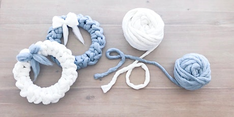 MAKE AND TAKE YOUR OWN HAND CROCHET  WREATH tickets