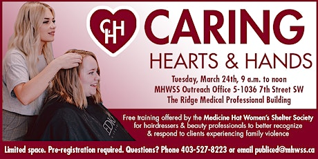 Caring Hearts & Hands Training tickets