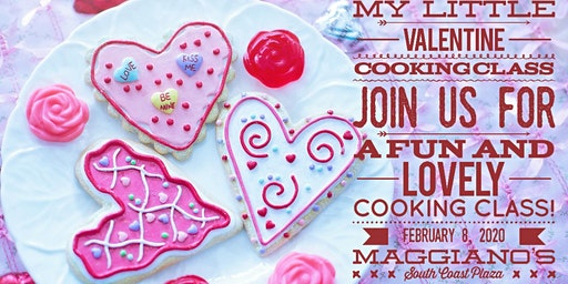 My Little Valentine Cooking Class