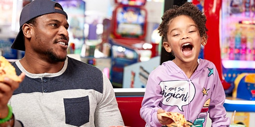 Breakfast with Chuck E. Cheese