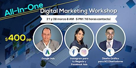All-In-One Digital Marketing Workshop entradas