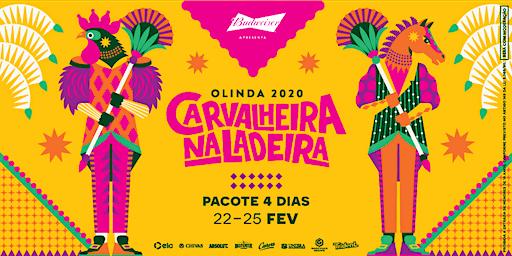 Carvalheira Na Ladeira 2020 - Pacote 4 Dias