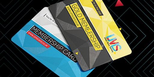 UMS Membership Card