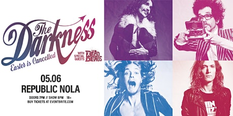 THE DARKNESS - EASTER IS CANCELLED TOUR tickets