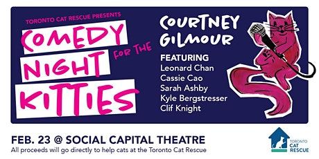 Comedy Night for the Kitties tickets
