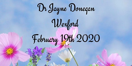 Dr Jayne Donegan Lectures Wexford tickets