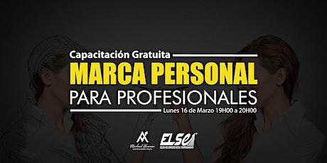 CAPACITACIÓN GRATUITA - Marca Personal para Profesionales entradas