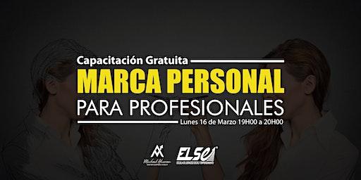 CAPACITACIÓN GRATUITA - Marca Personal para Profesionales