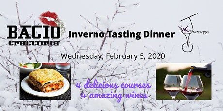 Inverno Tasting Dinner tickets