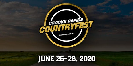 Crooks Rapids Country Fest 2020 tickets