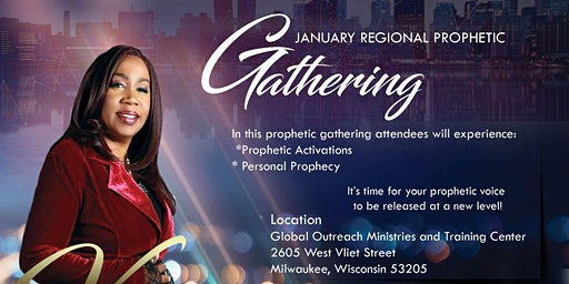 Dr. VJ Alston presents - January Regional Prophetic Gathering