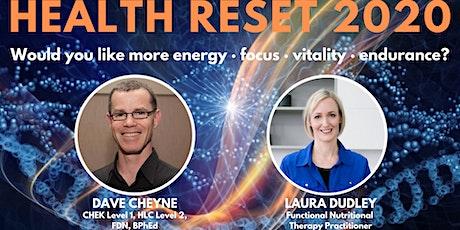 Health Reset 2020 - Winton tickets