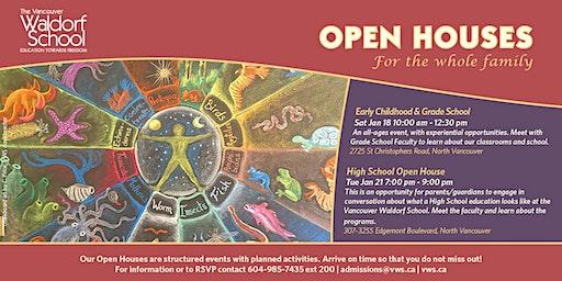 Vancouver Waldorf School Open Houses