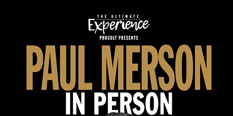 PAUL MERSON	 in person tickets