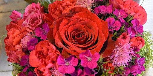 Valentine's Heart Arrangement