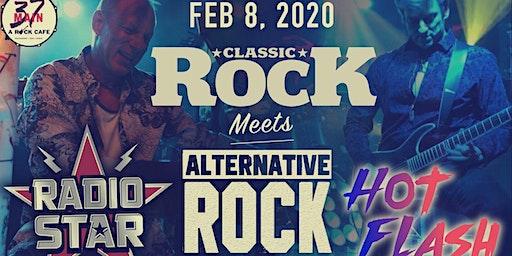 CLASSIC ROCK VS. ALTERNATIVE ROCK W/ RADIOSTAR & HOT FLASH
