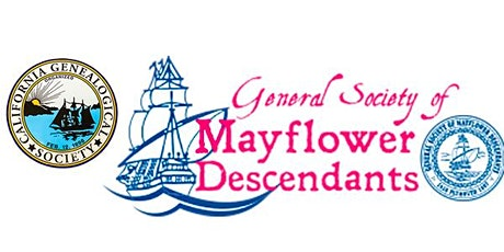 ON HIATUS - Mayflower Descendants - Special Interest Group - Monthly tickets