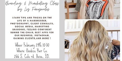 Branding & Marketing class by Liz Fanopoulos