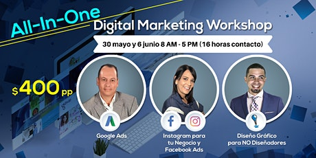 All-In-One Digital Marketing Workshop tickets