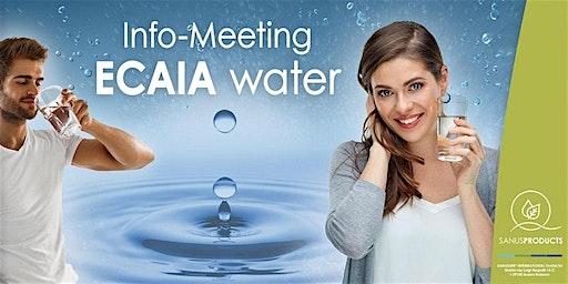 SANUSLIFE-Informationsveranstaltung zum Thema basischem Aktiv-Wasser