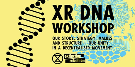 Extinction Rebellion 'DNA' Training tickets