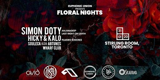Euphonic Union x Floral Nights | Simon Doty, Hicky & Kalo + more