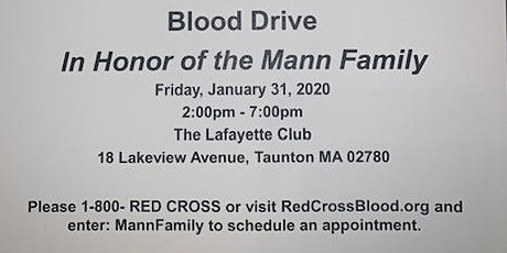 Taunton Community Blood Drive tickets