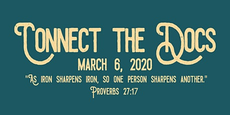 Connect the Docs 2020 tickets
