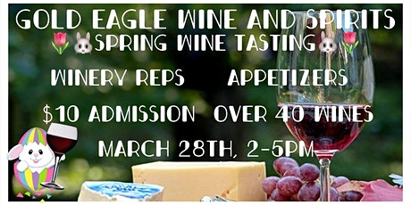Spring Wine Tasting tickets