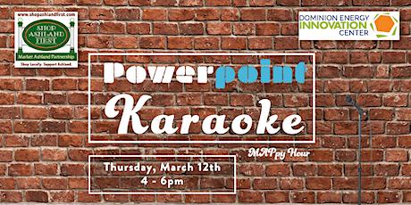 Powerpoint Karaoke MAPpy Hour tickets