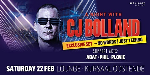 A night with CJ Bolland