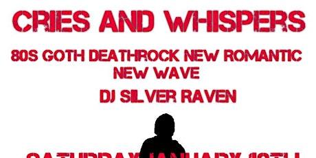 DJ Silver Raven - Darkwave, Haunted Psychedelia, 80s Goth & More tickets