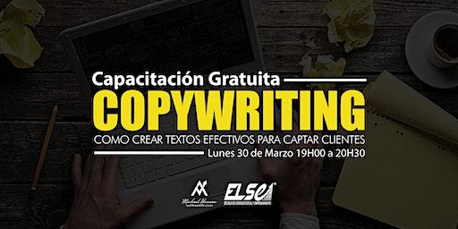 CAPACITACIÓN GRATUITA - CopyWriting, como crear textos efectivos