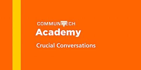 Communitech Academy: Crucial Conversations - Spring 2020 tickets