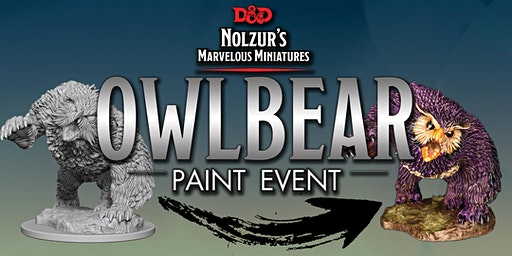 Portals - Learn to Paint: Owlbear Paint Event!