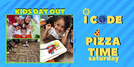 Kids' Day Out - I Code STEM and Pizza Time tickets