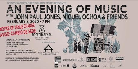An Evening of Music with John Paul Jones, Miguel Ochoa and Friends tickets