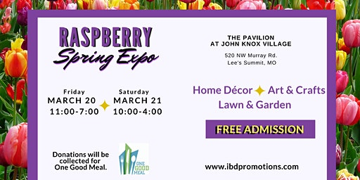 Raspberry Spring Expo - Art & Crafts