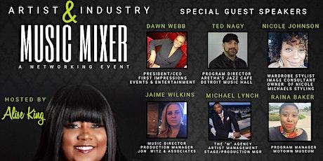 Artist & Industry Music Mixer tickets