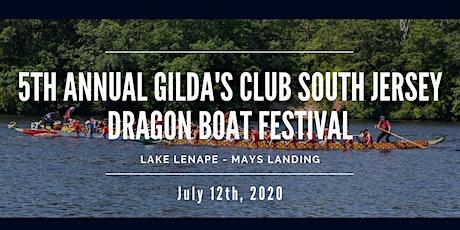 5th Annual Gilda's Club South Jersey Dragon Boat Festival tickets