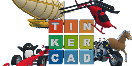 3D Design for Kids: Tinkercad tickets