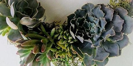 Succulent Wreath Class tickets