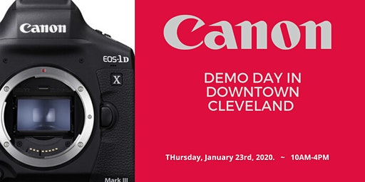 Canon 1D X Mark III Demo Day
