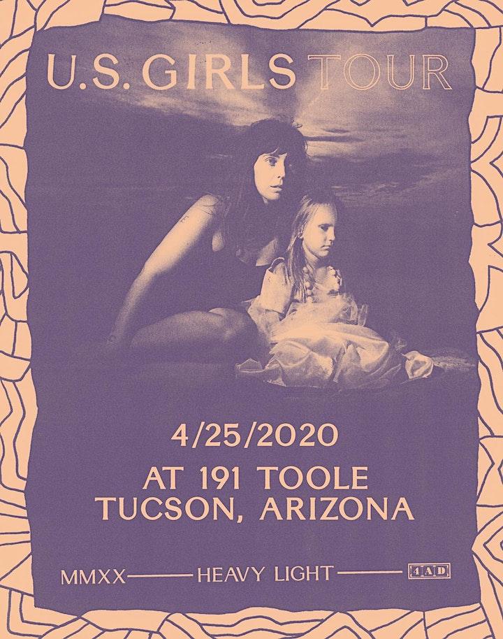 ***CANCELLED*** U.S. Girls @ 191 Toole image
